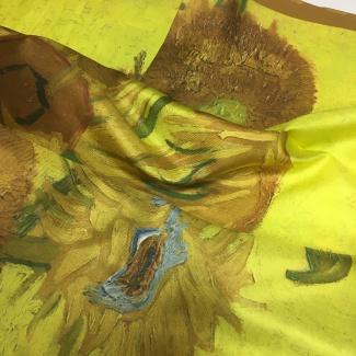 Hodvábna šatka Van Gogh - Slnečnice