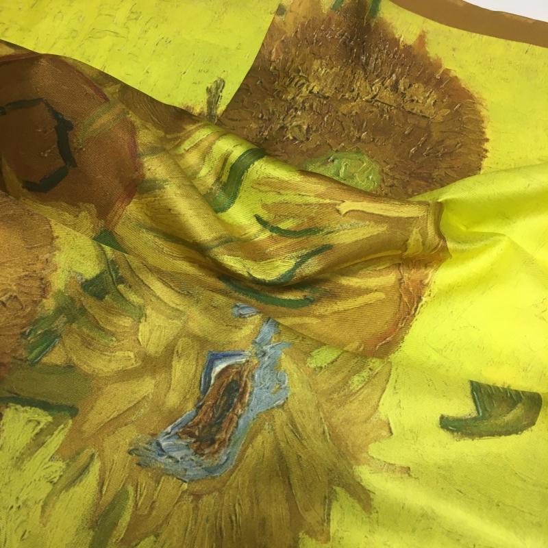Hodvábna Van Gogh - Slnečnice