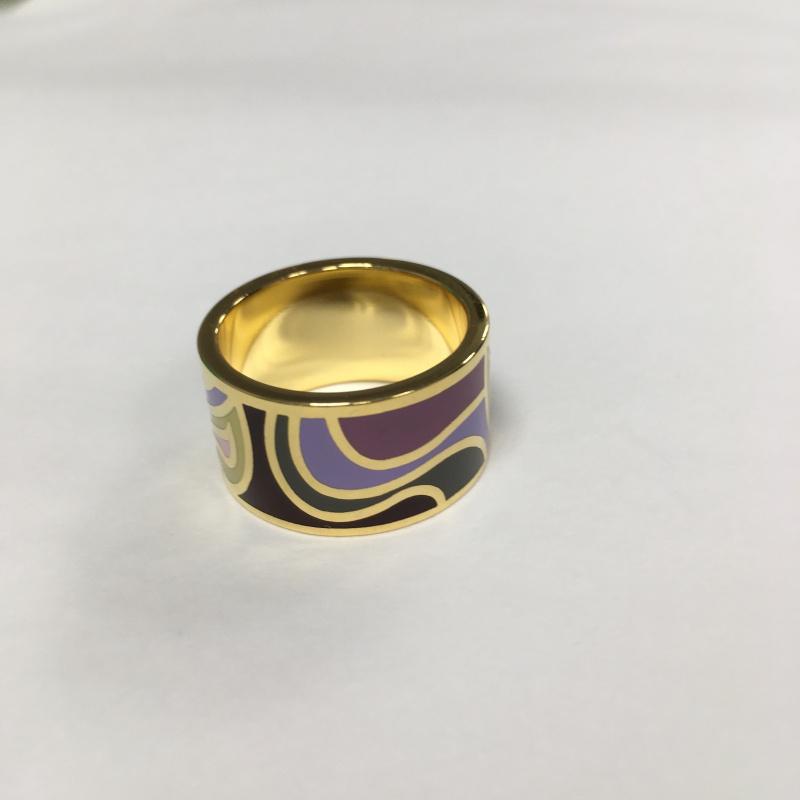 Krúžok na hodvábnu šatku Lavender