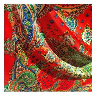 Hodvábna šatka Ó Maňo - detail