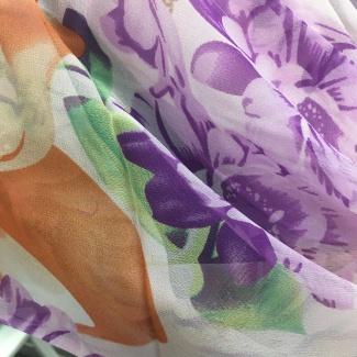 Hodvábny šál Laura Biagiotti - ružový