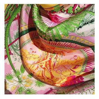 Hodvábna šatka Hula hula