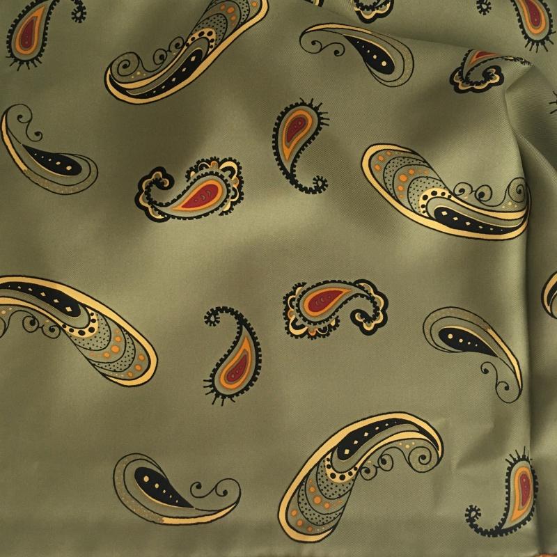 Hodvábna šatka Scottish Paisley Royal