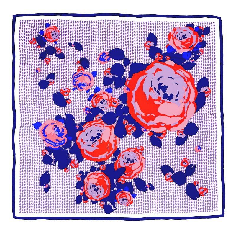 Hodvabna-satka-Vichy-violet-90x90cm-Ruze-fialova