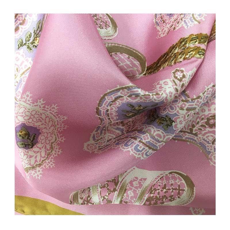 Hodvábna šatka Antoinette - detail