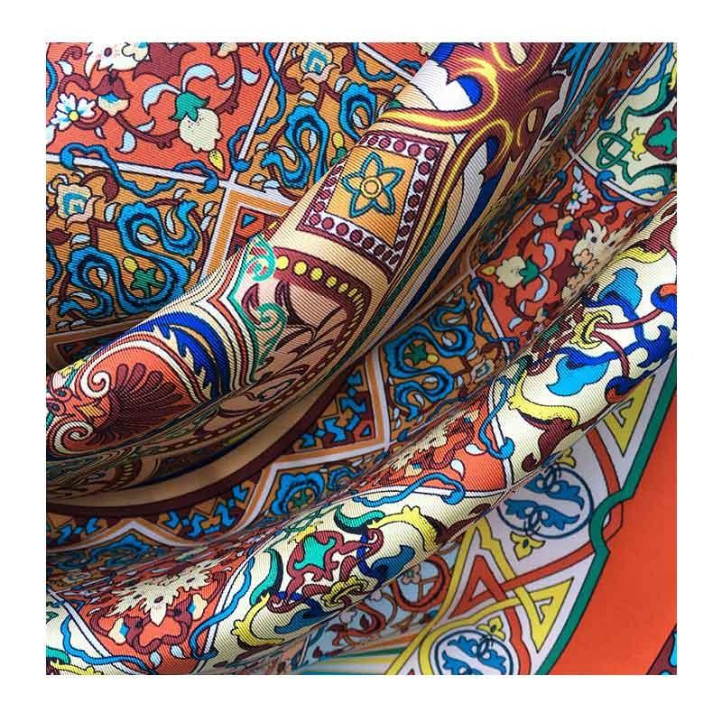 Hodvábna šatka Al Andalus - detail