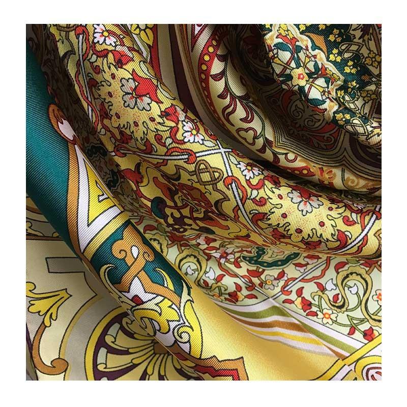 Hodvábna šatka Sevilla - detail