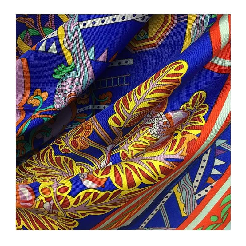 Hodvábna šatka Xilitla - detail