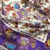 Hodvábna šatka Champ de fleurs violettes
