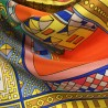 Hodvábna šatka Bracelets Orangé