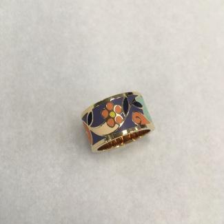 Krúžok na hodvábnu šatku Marigold