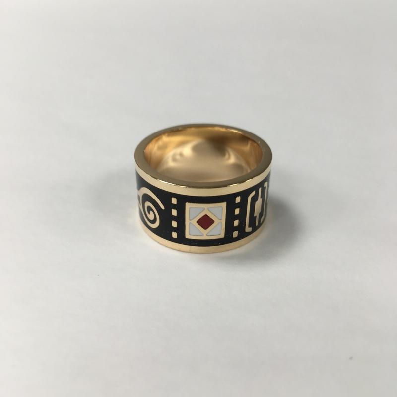 Krúžok na hodvábnu šatku Ascot