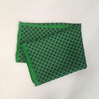 Hodvábna pánska vrecková šatka Sedum